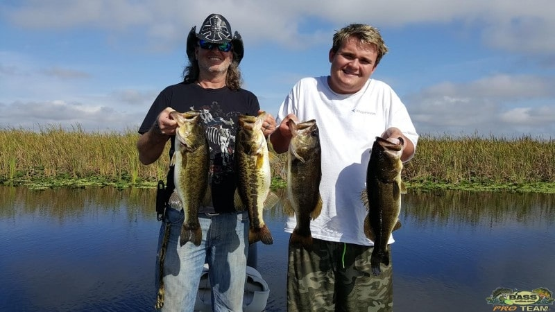 Florida Everglades Bass Fishing report